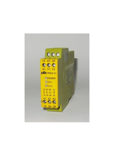 Pilz PNOZ X1 24VAC//DC 3n//o 1n//c Safety Relay
