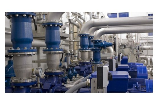 Our task in water supply of production plants include the prepartion of the process water and the regulation of the system pressure.