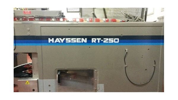 Modernization of packing plant for tubular bags Hayssen